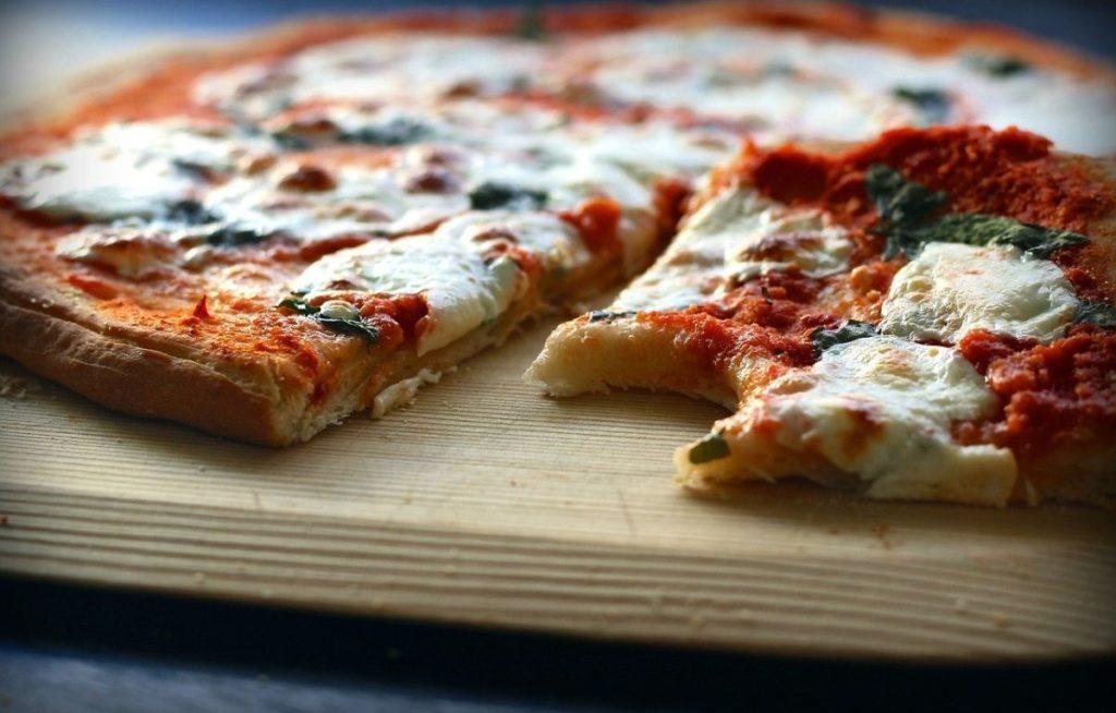 pizza, cheese, margarita